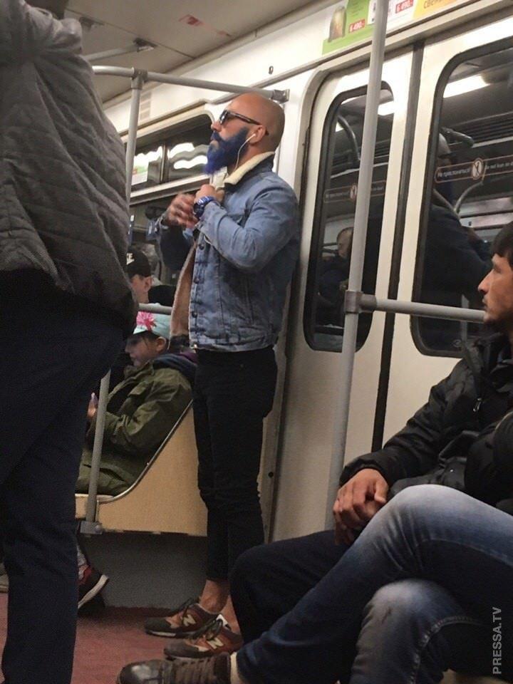 Удивительные граждане из метро