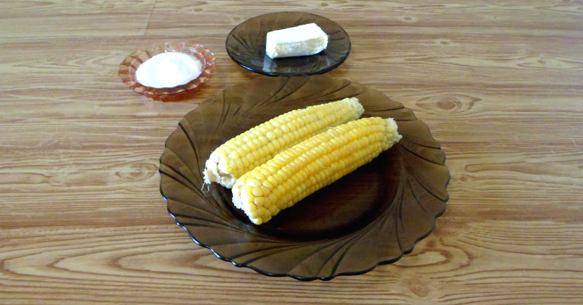 Как сварить кукурузу быстро и без воды