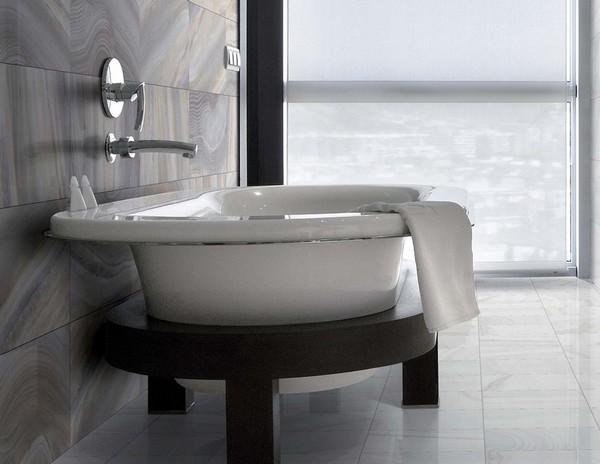 керамогранит в ванной фото