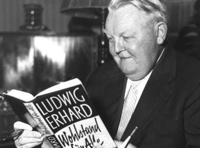 Людвиг Эрхард: творец «немецкого чуда»