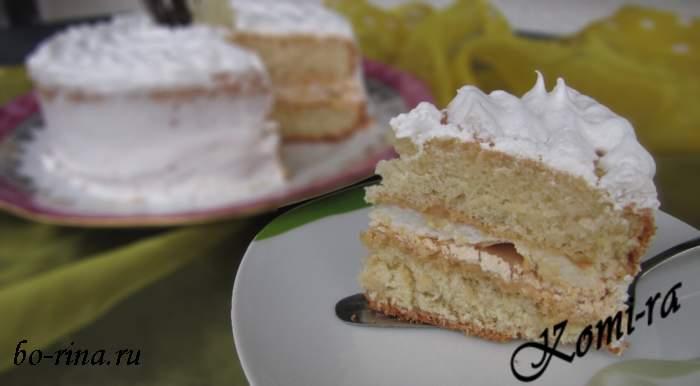 """Десертный вихрь. Торт """"Иней"""""""