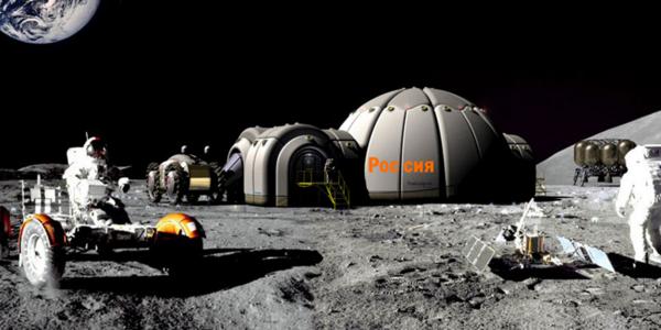 Такой могла бы стать реальность для России сегодня, если бы к власти в 1991 году не пришли либералы. База на Луне для добычи Гелия-3.