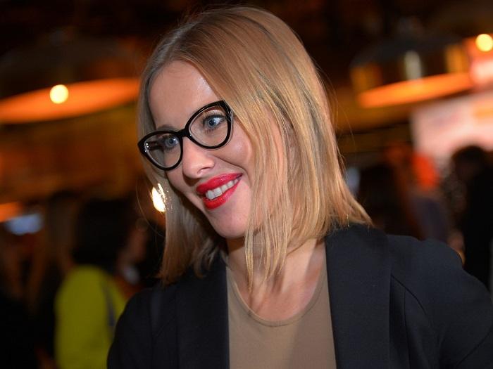 """Эволюция Ксении Собчак — как менялась """"блондинка в шоколаде"""""""