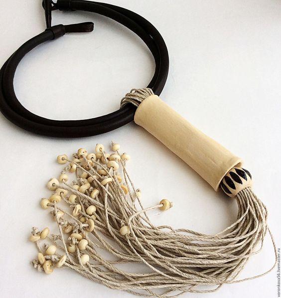 Бижутерия из льняной нити: интересные идеи для создания своими руками