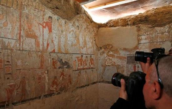 4400-летняя гробница открыла…