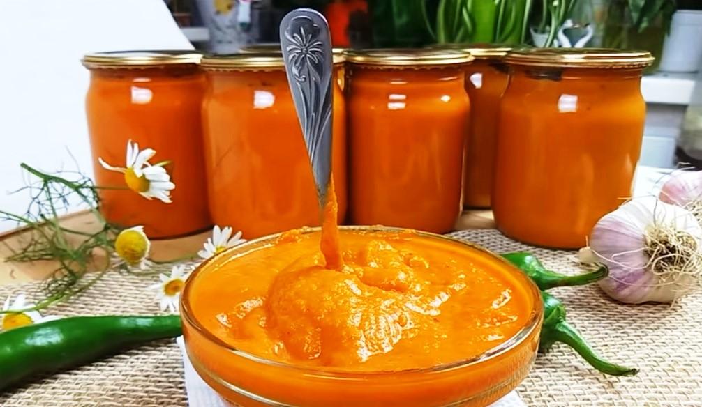 Проверенный рецепт насыщенной и вкусной кабачковой икры, которая готовится быстро и просто