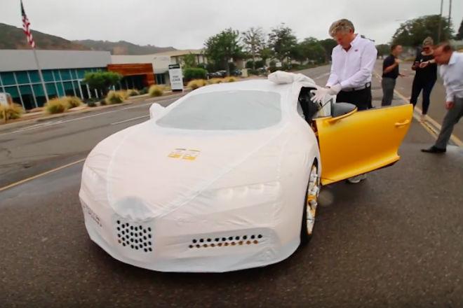 Не кантовать: как доставляют Bugatti Chiron за 3 миллиона долларов