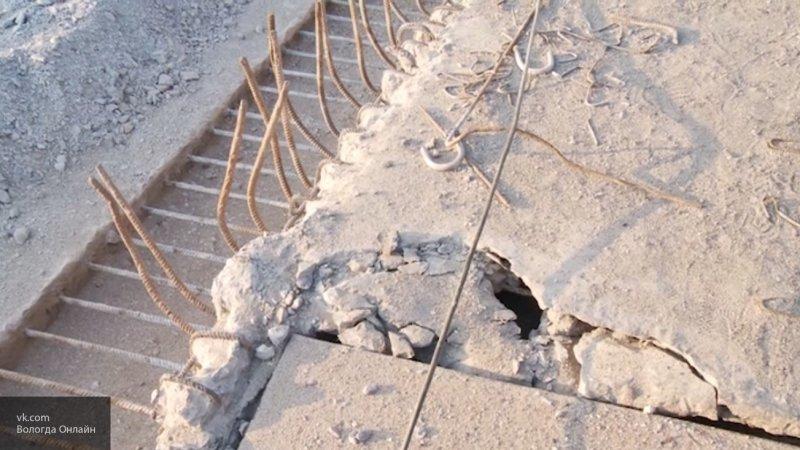 В Псковской области на трассе Порхов – Успенье закрыли аварийный мост