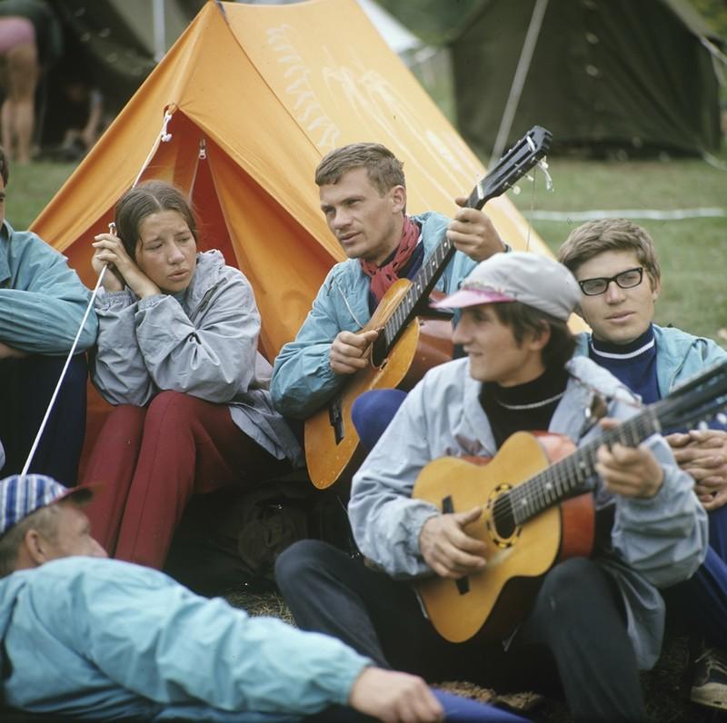 Туристы-каэспэшники, 1970-е: СССР в фото, подборка
