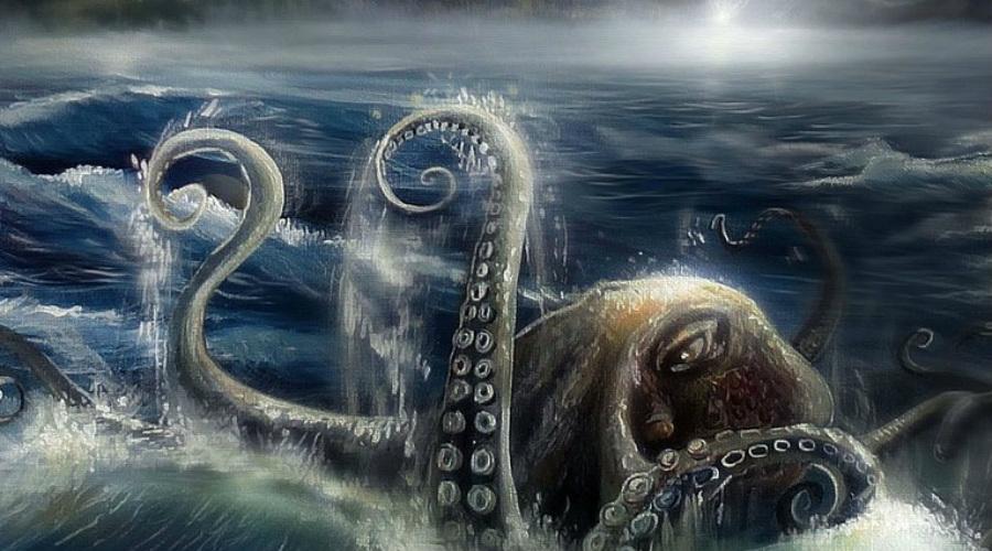Ужасные случаи нападения осьминогов на человека