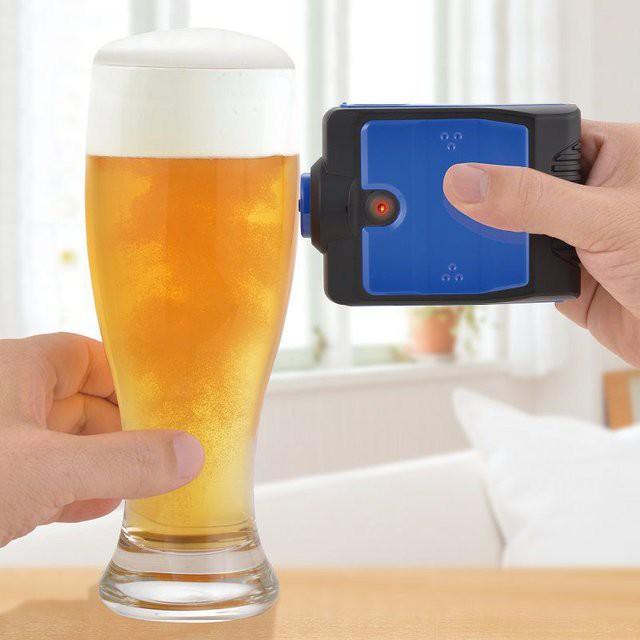 Устройство, с помощью которого можно увеличить количество пены в пиве гаджет, дизайн, креатив