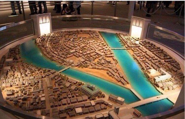 Хиросима до и после атомной бомбардировки. Наглядно