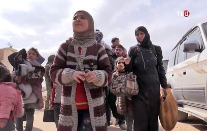 Более 11 тысяч человек покинули Восточную Гуту 17 марта