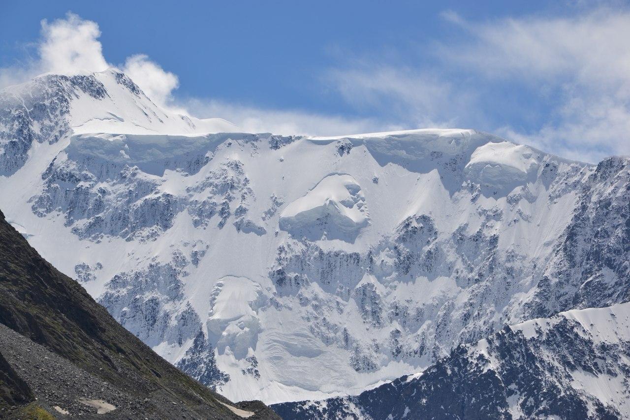 Горный Алтай, подножие г.Белухи (4506 м.)