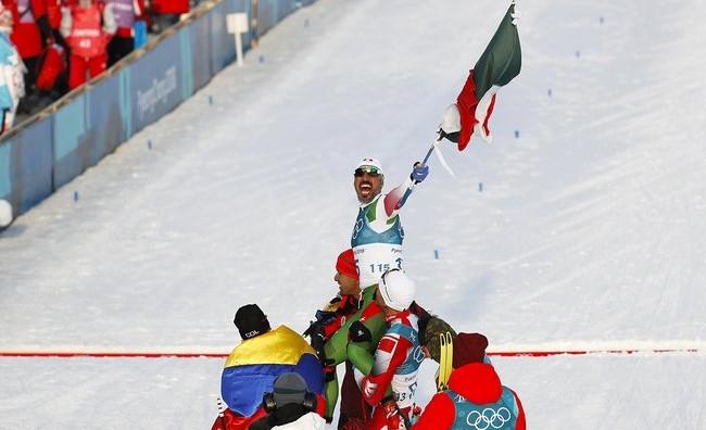 Лыжник из Мексики стал герое…