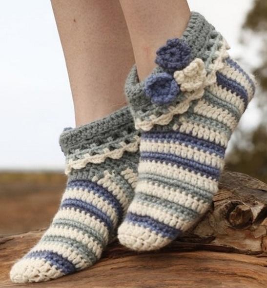 Тапочки-носочки «Аннабель» о…