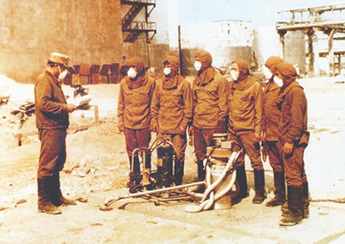 Чернобыльский спецназ