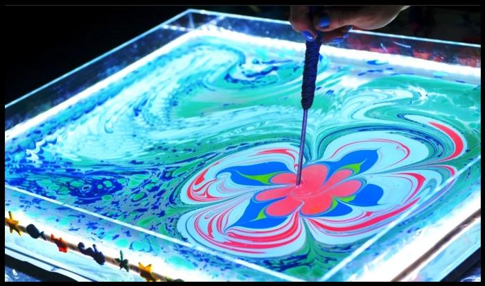 Эбру – рисование на воде