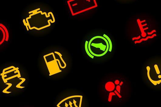 Полный каталог значков на приборной панели автомобиля