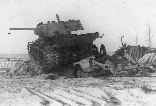 Танковый таран: как воевали …