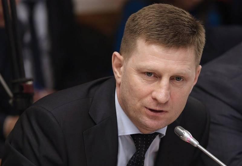 Хабаровский губернатор отреагировал на задержание своего предшественника