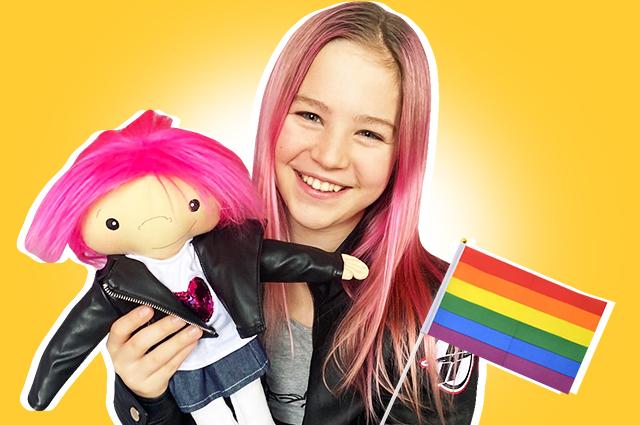 Ребека Брюзехофф: что мы знаем о 13-летней трансгендерной активистке, которая пытается изменить мир