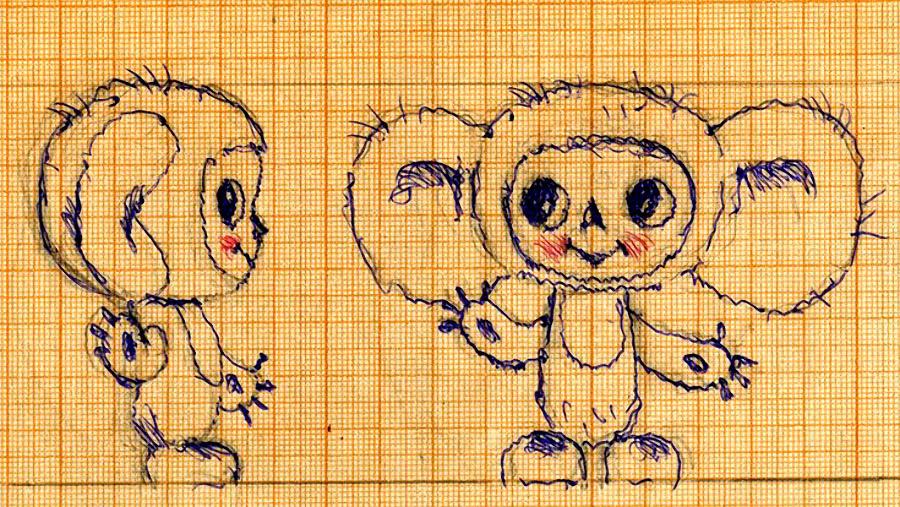 История создания мультфильма о Чебурашке и его друге