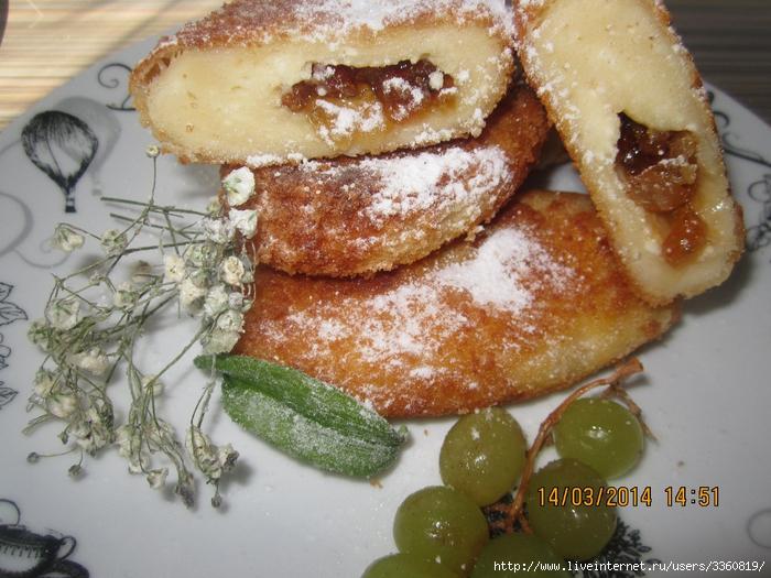 Сырники по -Киевски украинское  национальное блюдо