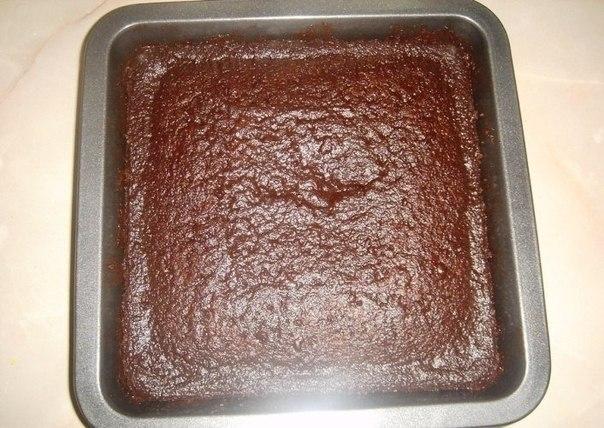 Фото к рецепту: Необычное пирожное