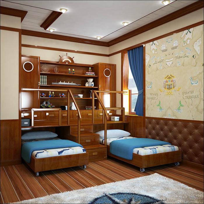 Топ 19 спален для экономящих пространств20