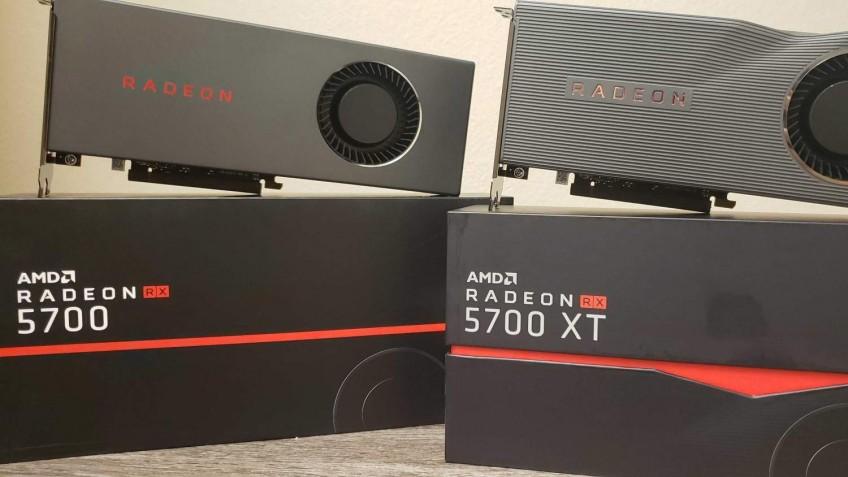 Специалисты превратили Radeon RX 5700 в RX 5700ХТ компьютеры,техника,электроника