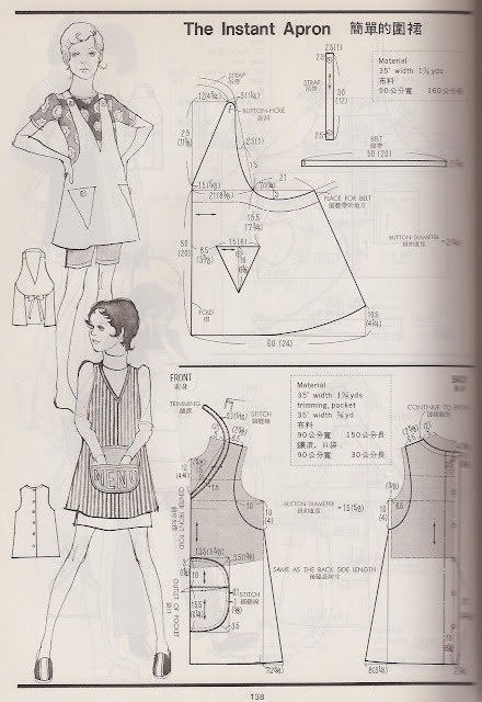 Выкройки фартуков выкройки фартуков,одежда,рукоделие,своими руками