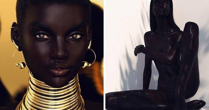 Фотограф был обвинён в расизме после того, как его безупречная модель прославилась в Instagram