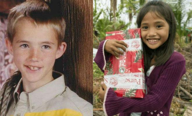 Школьник отправил подарок бедной девочке на Филиппины, а через 14 лет по воле случая они стали мужем и женой