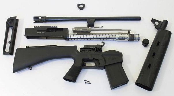 Самозарядное гладкоствольное ружье МР-155К от концерна «Калашников»