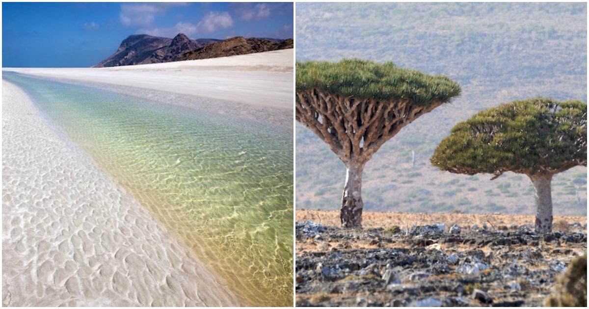 Изолированный остров с невер…