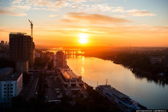 Красоты Ростова-на-Дону с высоты
