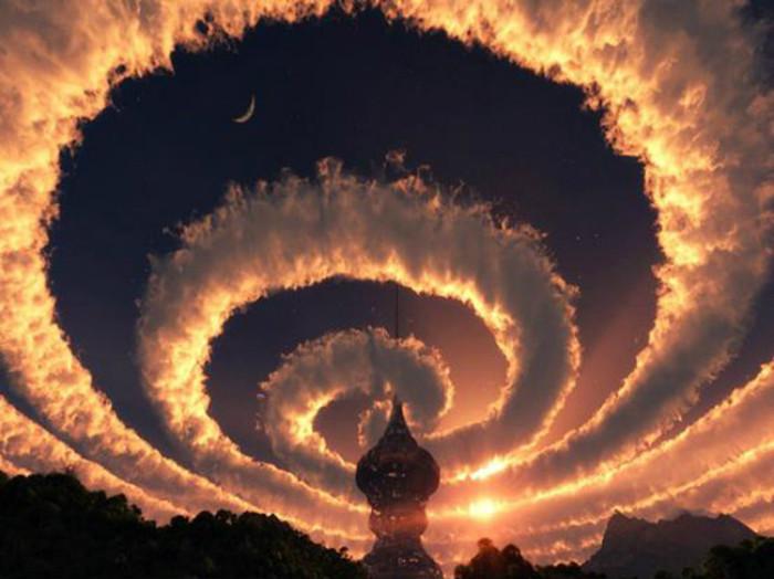 3. Спиральное облако Феномены, природа