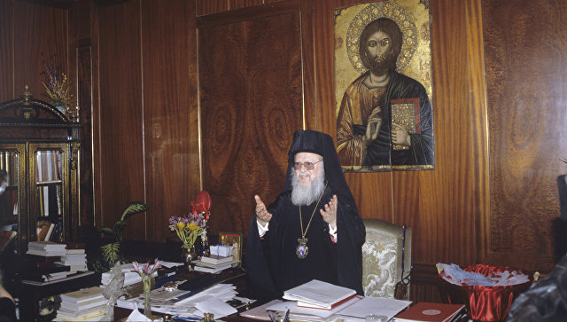 Тайные связи патриарха Варфоломея