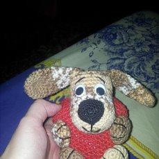 Собака валентинка