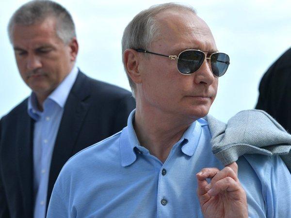 Путин завершит предвыборную кампанию в Крыму