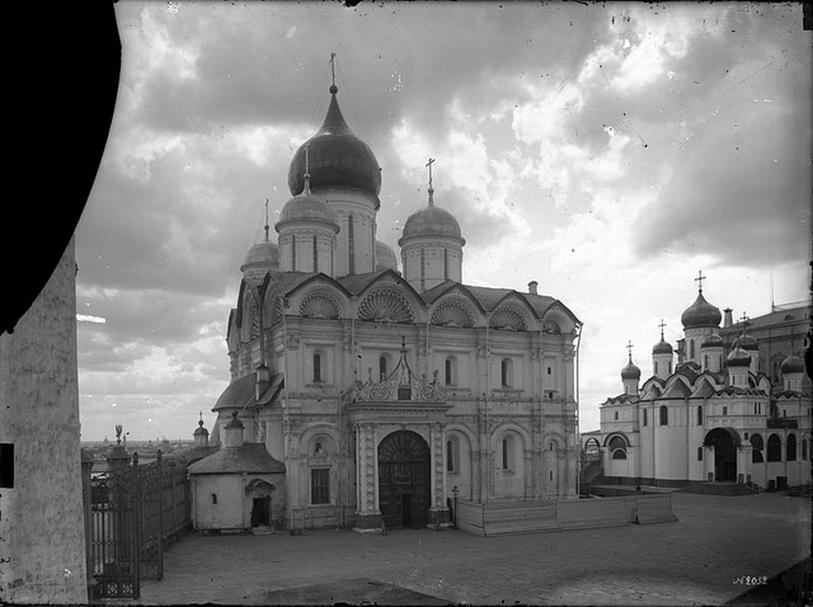 Загадочный некрополь московских царей