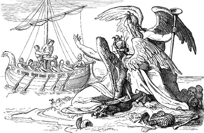 Иллюстрации к поэме одиссей