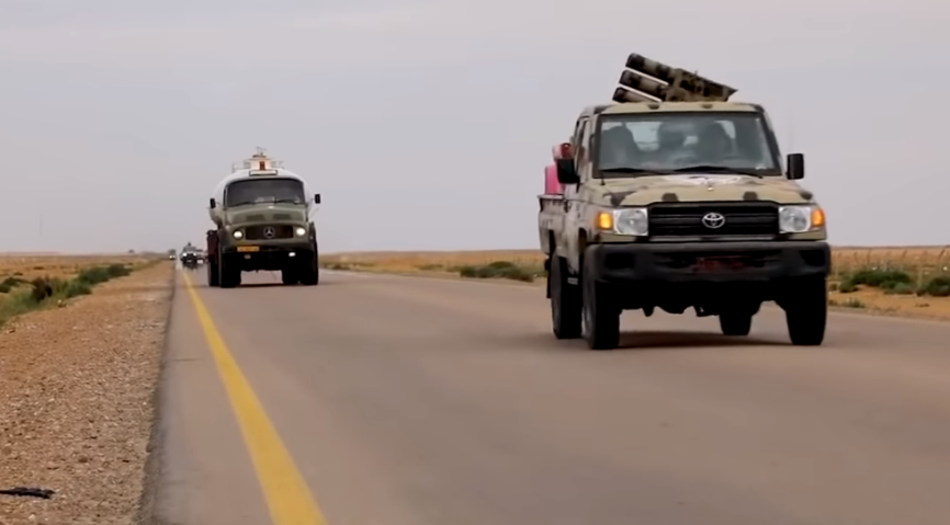Ливийская национальная армия…