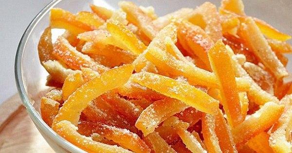 Невиданное лакомство из апельсиновой кожуры. Теперь ты перестанешь ее выбрасывать!