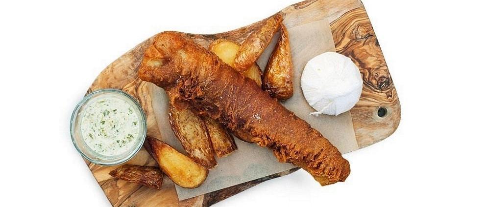 СЕМЕЙНЫЙ УЖИН. Рыбные рецепты. Фиш-энд-чипс с соусом тартар