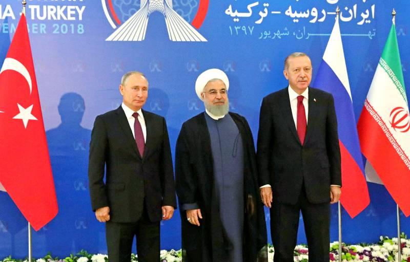 Союз России, Турции и Ирана возьмет под контроль важнейшие торговые пути Новости