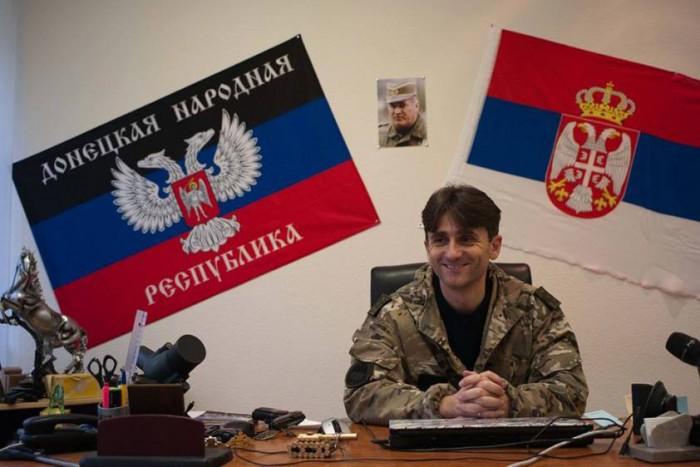Деян Берич о войне и мире