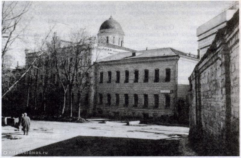 Хлудовская богодельня. Фото 1990-1997 г. интересное, москва, старые фото, фото