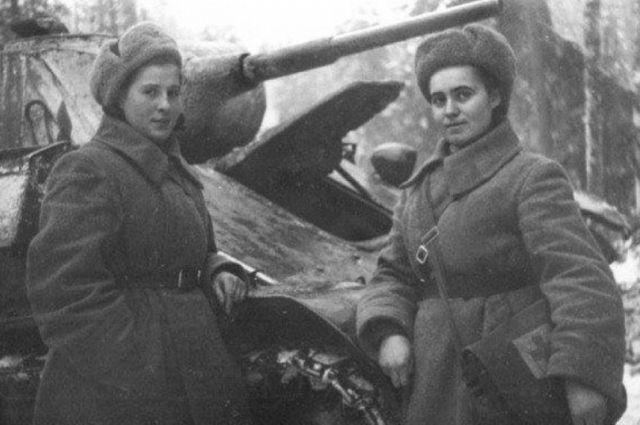 Женщины внесли большой вклад в Великую Победу.